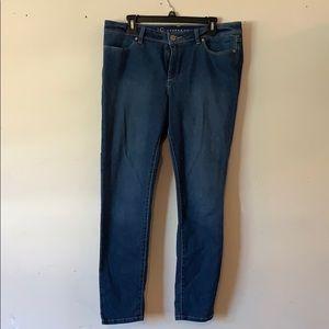 Lauren Conrad LC Skinny Jeans size 14
